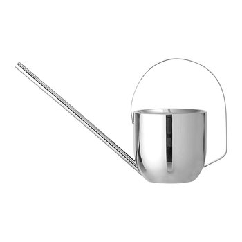 Metal Watering Can - Silver