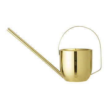 Metal Watering Can - Gold