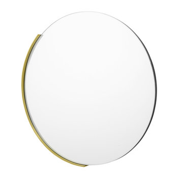 Round Glass Mirror - Clear
