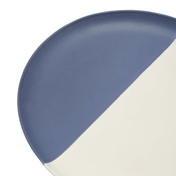 Galley Grade Dinner Plate - French Navy