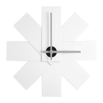 Watch Me Wall Clock - White