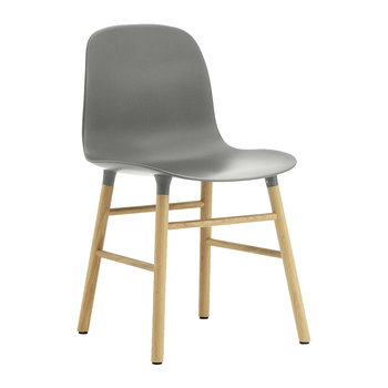 Form Chair - Oak - Grey