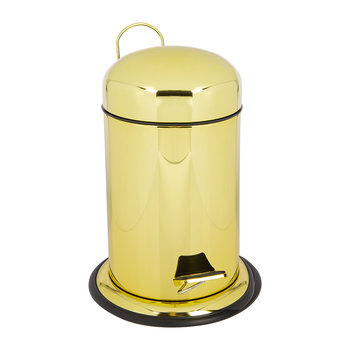 TE30 Trash Can - Gold Varnish