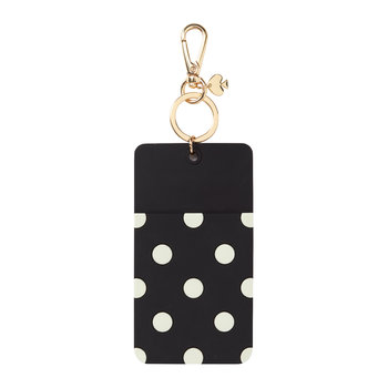 'Why Hello There' Luggage Tag - Black Dot