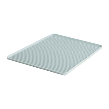 Dish Drainer Tray - Light Blue