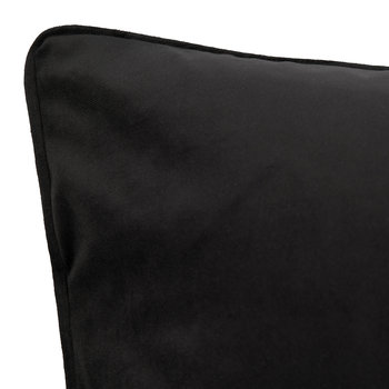 Velvet Cushion - Black