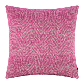 Herringbone Pillow - 60x60cm - Pink