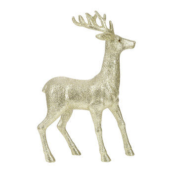 Deer Ornament  - Large - Gold