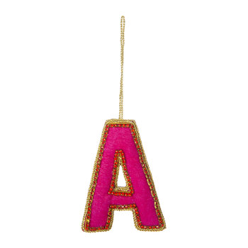 Letter Christmas Tree Decoration - A