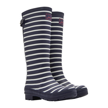 Women's French Navy Stripe Wellies