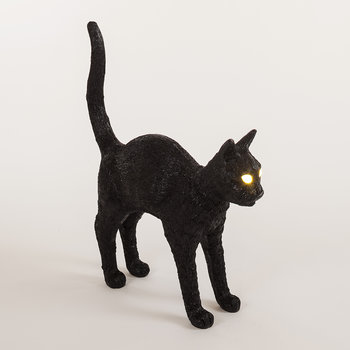 Jobby the Cat Rechargeable Lamp - Black