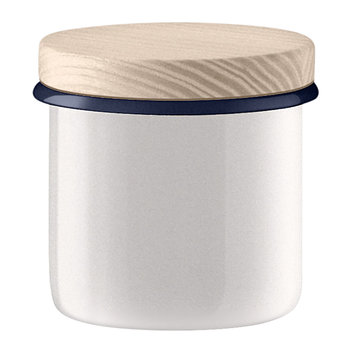 Utility Container & Ash Lid - Milk White