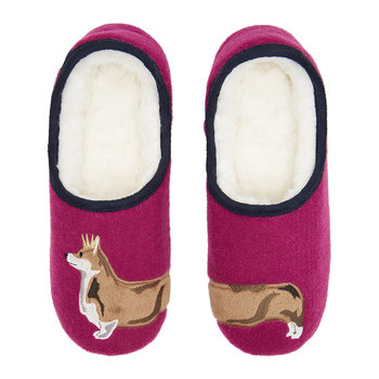 Pink Dog Slippets Mule Slippers
