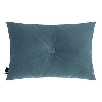 Velour Dot Pillow - 45x60cm - Blue