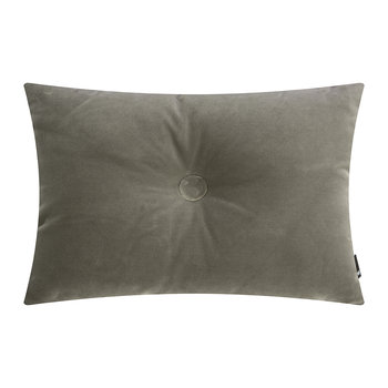 Velour Dot Pillow - 45x60cm - Warm Gray