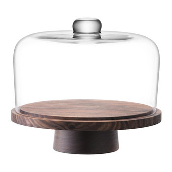 City Dome & Walnut Stand