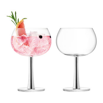 Gin Balloon Glass - Set of 2 - Platinum