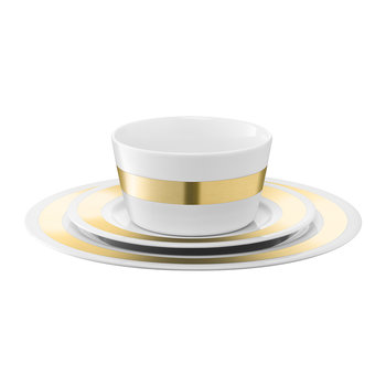 Space Place Setting Set - Gold