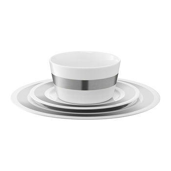 Space Place Setting Set - Platinum