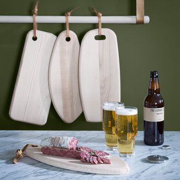 Ivalo Ash Curved Serving Board