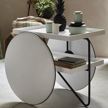 Chariot Table - White