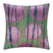 multi-circle-print-cushion-green-pink-45x45cm