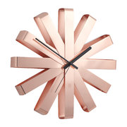 ribbon-wall-clock-copper