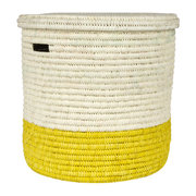 vipi-hand-woven-colour-block-laundry-storage-basket-yellow-m