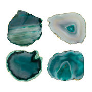 agate-coasters-set-of-4-green