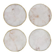 agate-coasters-set-of-4-white