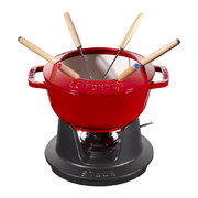 fondue-set-with-6-forks-cherry