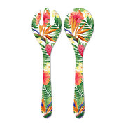 exotic-flowers-salad-servers
