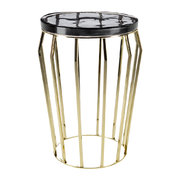 smoked-glass-round-side-table