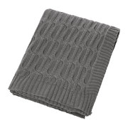 cable-knit-throw-dark-grey