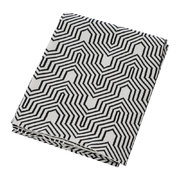 geometric-knitted-throw-black-white