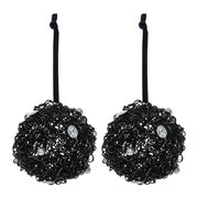 glitter-wire-bauble-with-crystals-set-of-2-gunmetal