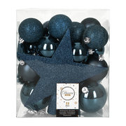 set-of-33-assorted-baubles-and-tree-topper-night-blue