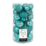 set-of-30-assorted-baubles-turquoise