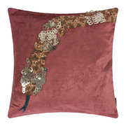 velvet-animal-cushion-snake-40x40cm