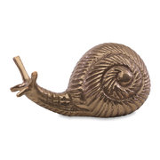snail-paper-weight-antique-brass