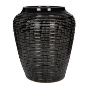 willow-vase-black-25cm