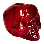 still-life-skull-votive-red