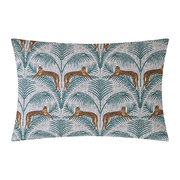lounging-leopards-pillowcase-fern-green-set-of-2