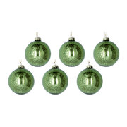 antique-effect-glass-bauble-set-of-6-green
