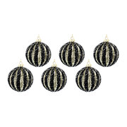 beaded-ribbed-glass-bauble-set-of-6-black-gold