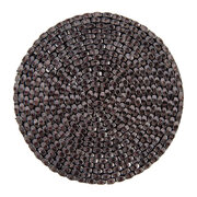 woven-beaded-coaster-set-of-4-gunmetal