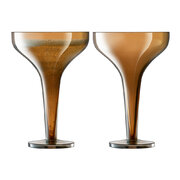 epoque-champagne-saucer-set-of-2-amber