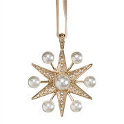 space-pearl-star-tree-decoration-gold