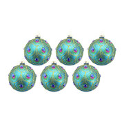 peacock-feather-scalloped-bauble-set-of-6