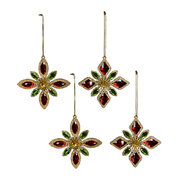 star-with-jewels-tree-decoration-set-of-4-red-green